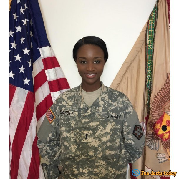 Dark-Skinned Military Woman Has Become