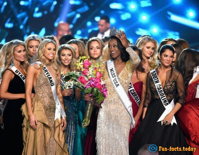 """Dark-Skinned Military Woman Has Become """"Miss USA"""""""