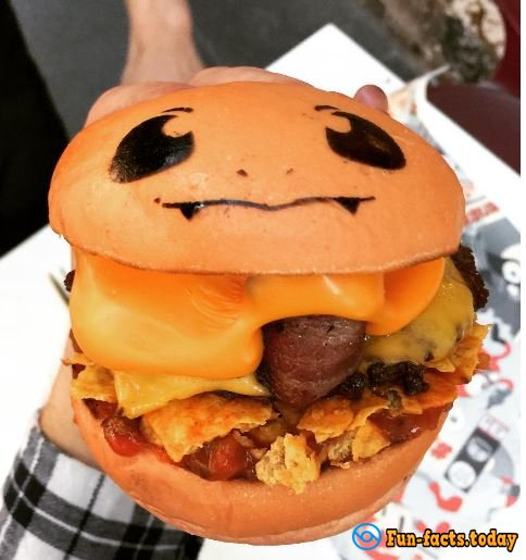 Pokemon Go-Burgers Can Be Tried in Sydney