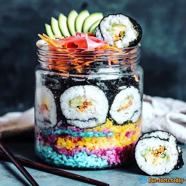 Rainbow Sushi: New Internet Trend That Is Worth To Try