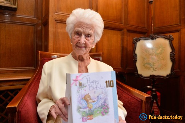 110-Year-Old British Woman Said That the Secret of Her Longevity - Whiskey