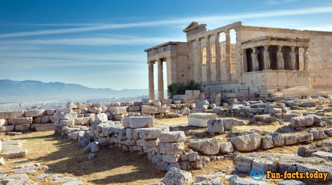 10 Interesting facts about the Acropolis, Which You did not Know