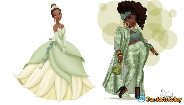More And More Beauty: Artist Add Extra Weight To Disney Princesses