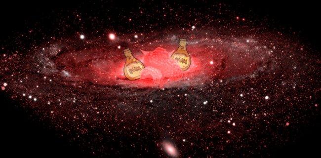 The Milky Way Smells Like Rum & Tastes Like Raspberries